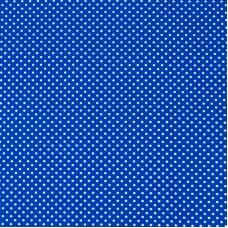 Маломеры бязь плательная 150 см 1590/21 цвет василек 0.9 м