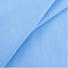 Бязь гладкокрашеная ГОСТ 150 см цвет голубой