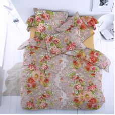 Ткань на отрез бязь 120 гр/м2 150 см 13030/1 Весеннее настроение