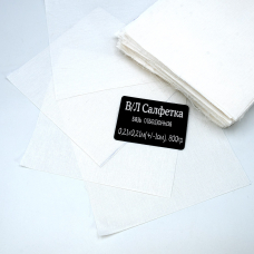 Весовой лоскут Бязь отбеленная 0,21 / 0,21 (+/- 1) м по 0,800 кг