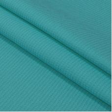 Вафельное полотно гладкокрашенное 150 см 165 гр/м2 цвет бирюза
