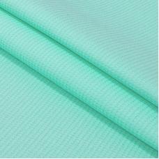 Вафельное полотно гладкокрашенное 150 см 165 гр/м2 цвет ментол