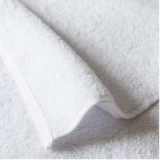 Полотенце махровое 500 гр/м2 Туркменистан 50/70 см белое
