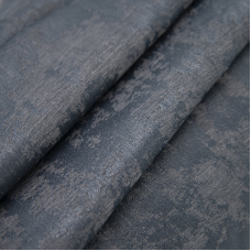 Портьерная ткань на отрез Мрамор 517/37 цвет графит
