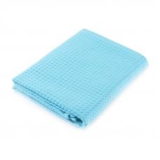 Полотенце вафельное банное Премиум 150/75 см цвет 437 бирюзовый