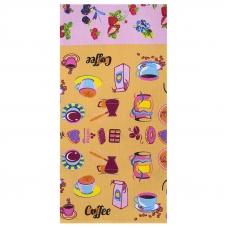 Полотенце вафельное 35/75 см 0222/1 цвет бежевый