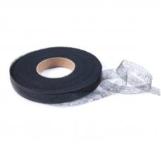 Паутинка ширина 35 мм (100 ярд) цвет черный
