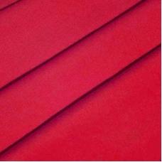 Ткань на отрез полулен 150 см 70050 цвет красный 2