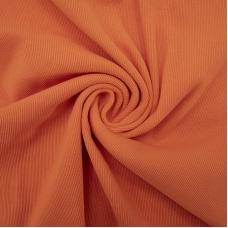 Ткань на отрез кашкорсе с лайкрой цвет Оранжевый