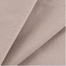 Ткань на отрез футер с лайкрой 25-1 цвет светло-коричневый
