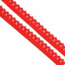 Резинка TBY бельевая 12 мм RB01162 цвет F162 красный 1 метр