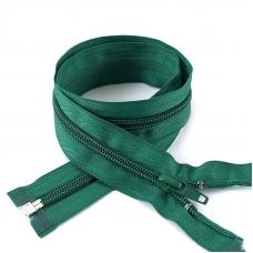 Молния спиральная разъёмная 65см; цвет: 878 - зеленый