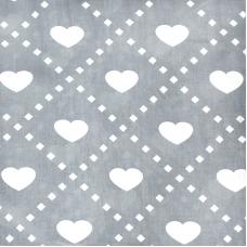 Ткань на отрез бязь плательная 150 см 1958 цвет серый