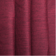 Ткань на отрез Blackout лен рогожка 508-19 бордовый