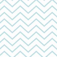 Ткань на отрез интерлок пенье Зиг-заг светло-мятный 5705-17