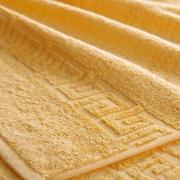 Полотенце махровое Туркменистан 50/90 см цвет желтый SARY