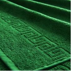 Полотенце махровое Туркменистан 40/65 см цвет Зеленый