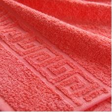 Полотенце махровое Туркменистан 40/65 см цвет Коралловый