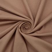 Ткань на отрез трикотаж лапша цвет персик