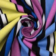 Ткань на отрез кулирка R6173-V2 Полоса