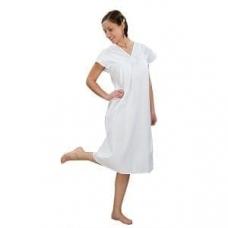 Сорочка женская ночная, бязь отбеленная 100% хлопок, 56-58