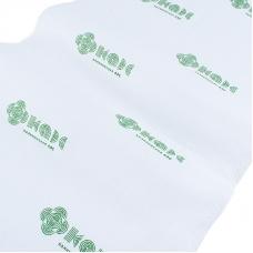 Полотенце вафельное отбеленное 200 гр/м2 с логотипом упаковка 5 шт 45/80 см