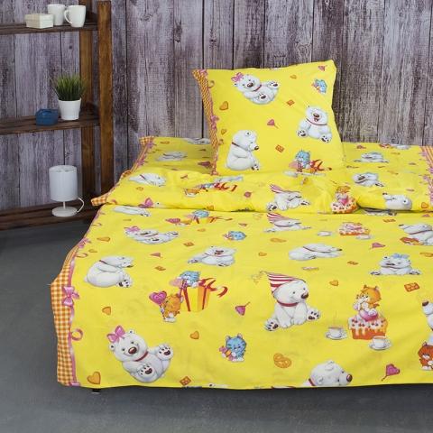 Детское постельное белье 4662/1 День рождения 1.5 сп поплин