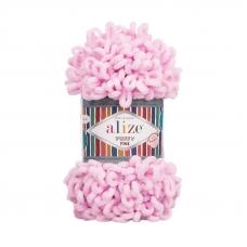 Пряжа ALIZE PUFFY FINE 194 - светло-розовый (100% микрополиэстер)