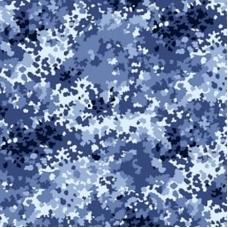 Ткань на отрез саржа цвет камуфляж 671-3п Излом