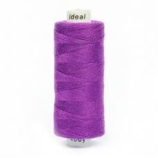 Нитки бытовые Ideal 40/2 100% п/э 195 фиолетовый