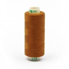 Нитки бытовые Dor Tak 40/2 366м 100% п/э, цв.176 св.коричневый