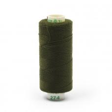 Нитки бытовые Dor Tak 40/2 366м 100% п/э, цв.274 зеленый