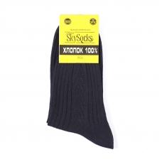 Мужские носки СМ-10 Skysocks цвет черный размер 25