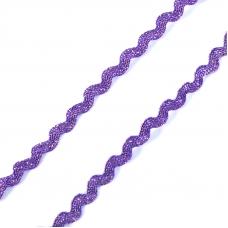 Тесьма плетеная вьюнчик (МЕТАНИТ) С-2914 (3621) г17 уп 20 м ширина 7 мм (5 мм) рис 8657 цвет 171