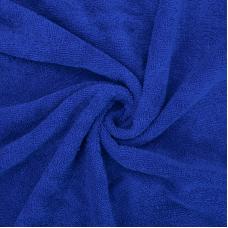 Ткань на отрез махровое полотно 150 см 390 гр/м2 цвет василек