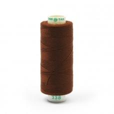 Нитки бытовые Dor Tak 40/2 366м 100% п/э, цв.338 коричневый