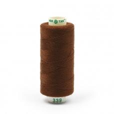 Нитки бытовые Dor Tak 40/2 366м 100% п/э, цв.339 коричневый