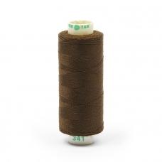 Нитки бытовые Dor Tak 40/2 366м 100% п/э, цв.341 коричневый