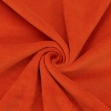 Ткань на отрез велюр цвет оранжевый