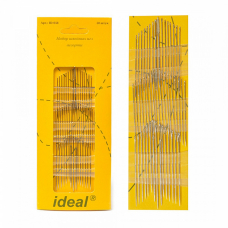 Иглы IDEAL 058/ HN-36 набор швейных игл АССОРТИ уп 50 игл (0340-0058)