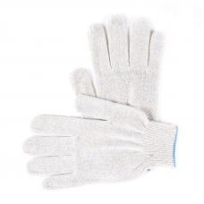 Перчатки рабочие без ПВХ 10-й класс белые 4-х нитка