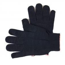 Перчатки рабочие без ПВХ 10-й класс черные 4-х нитка