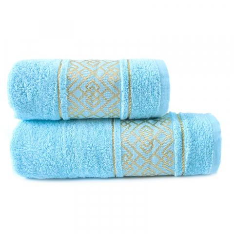 Полотенце махровое Bangle ПЛ-3601-02924 50/80 см цвет голубой