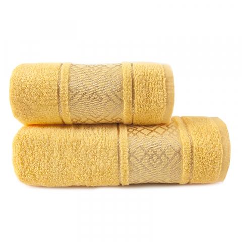 Полотенце махровое Bangle ПЛ-1801-02924 70/120 см  цвет желтый