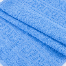 Полотенце махровое 30/50 см цвет 012 голубой