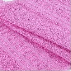 Полотенце махровое 30/50 см цвет 105 ярко-розовый