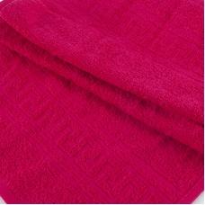 Полотенце махровое 30/50 см цвет 108 брусника