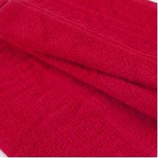 Полотенце махровое 30/50 см цвет 109 красный