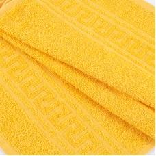 Полотенце махровое 30/50 см цвет 204 ярко-желтый