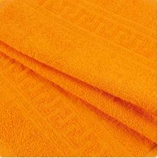 Полотенце махровое 30/50 см цвет 207 апельсиновый